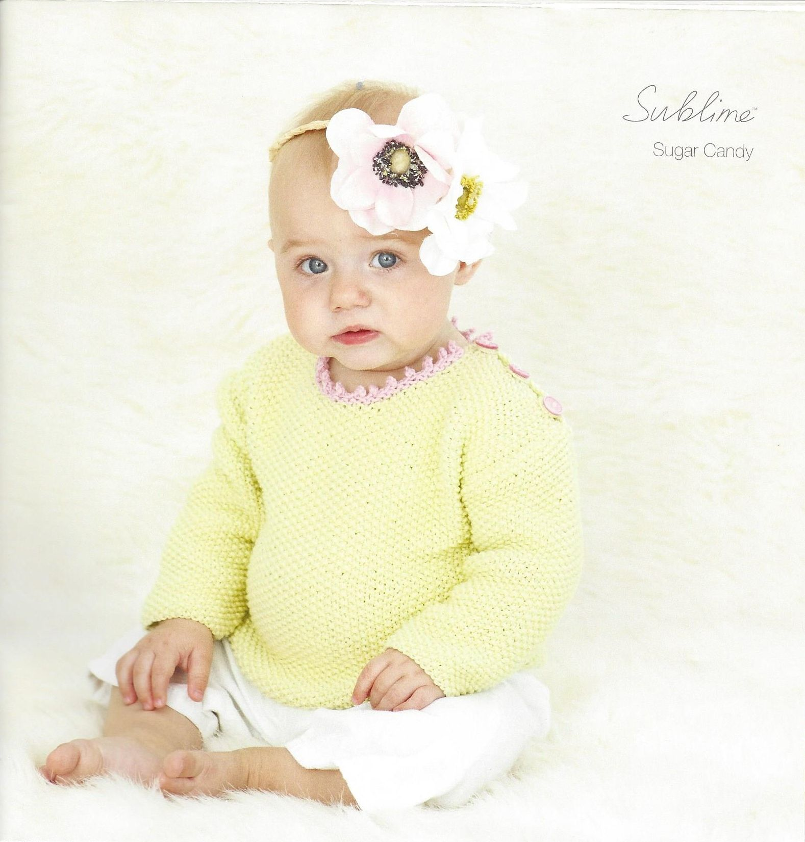 4f3eb6f40 618 . The first little Sublime baby cotton kapok dk book